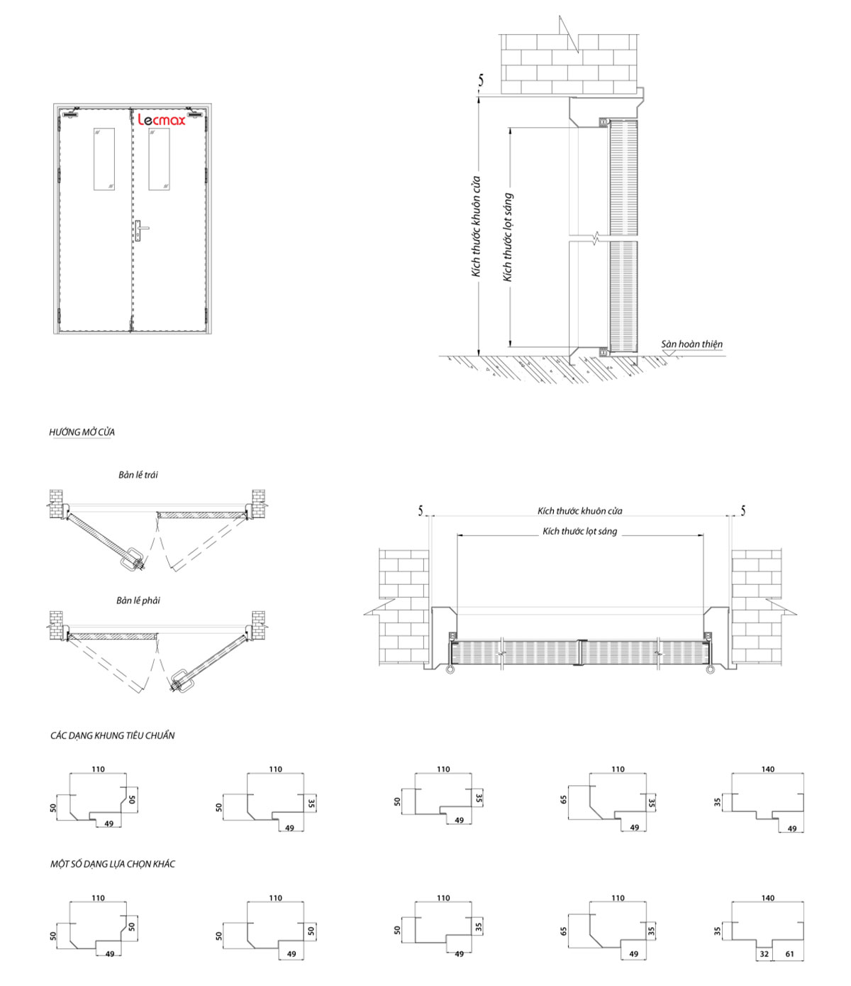 Technical drawings - LM FSD 70