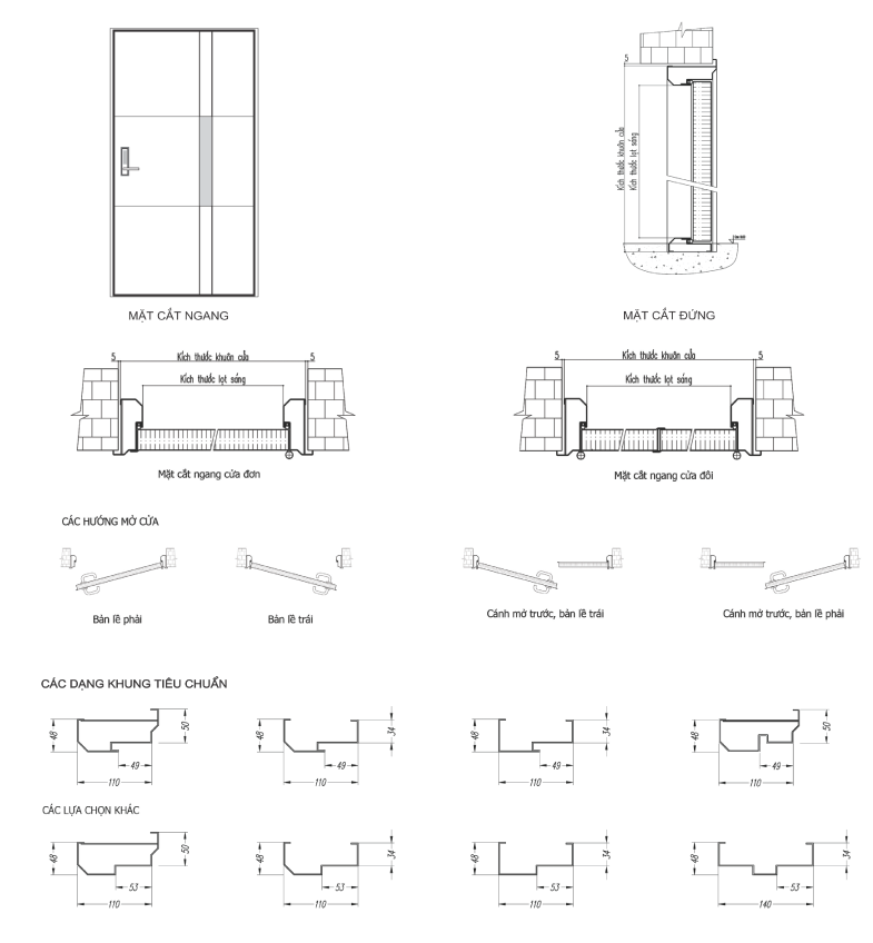 Technical Drawings - LM FGD 60